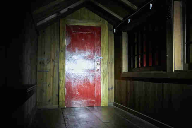 it comes at night red door