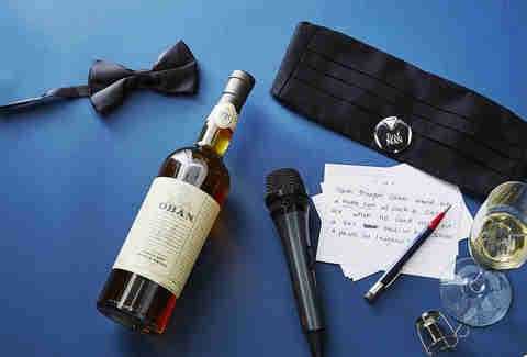 Bottle for the Best Man's Toast | Oban Single Malt Whisky | Supercall