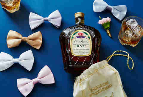 Bottle for the Groomsman | Crown Royal Northern Harvest Rye | Supercall