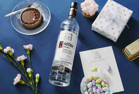 Bottle for the Bridal Shower | Ketel One Vodka | Supercall
