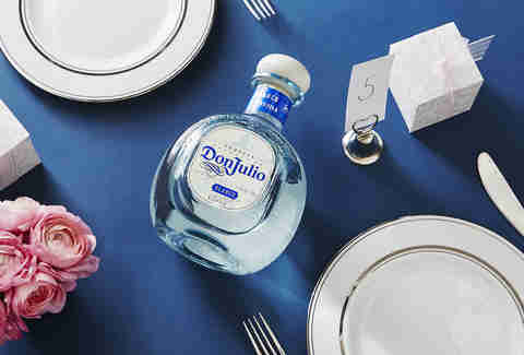 Bottle for the Rehearsal Dinner | Don Julio Tequila Blanco | Supercall