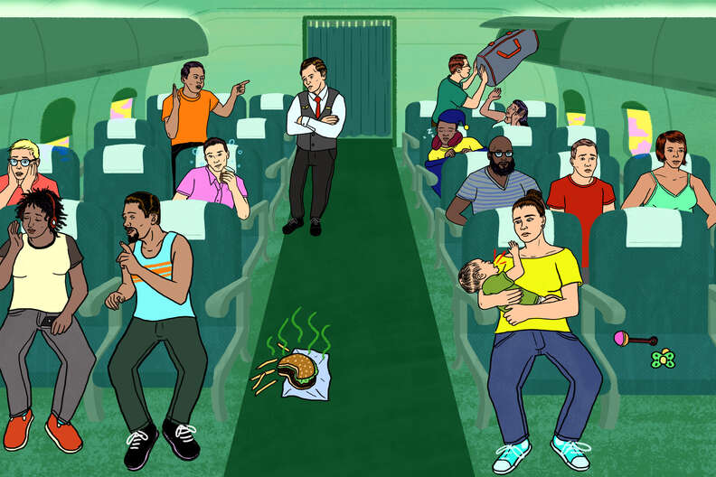 Unwritten rules of airplanes
