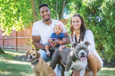 Logan Ryan with family