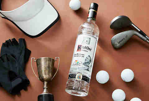 The Golf Dad's Perfect Father's Day Bottle Gift: Ketel One Arnold Palmer Commemorative | Supercall