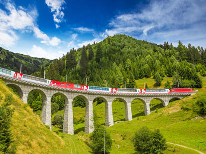 landwasser Viaduct bridge