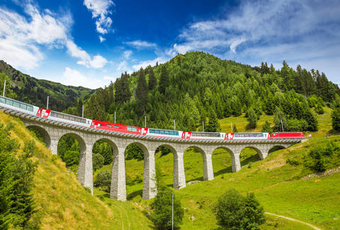 landwasser Viaduct bridge