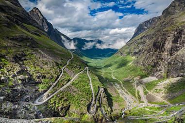 Trolls Path, Norway