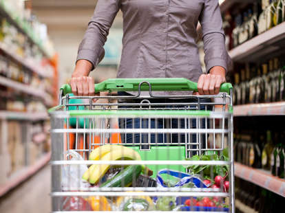 how many germs are on grocery carts