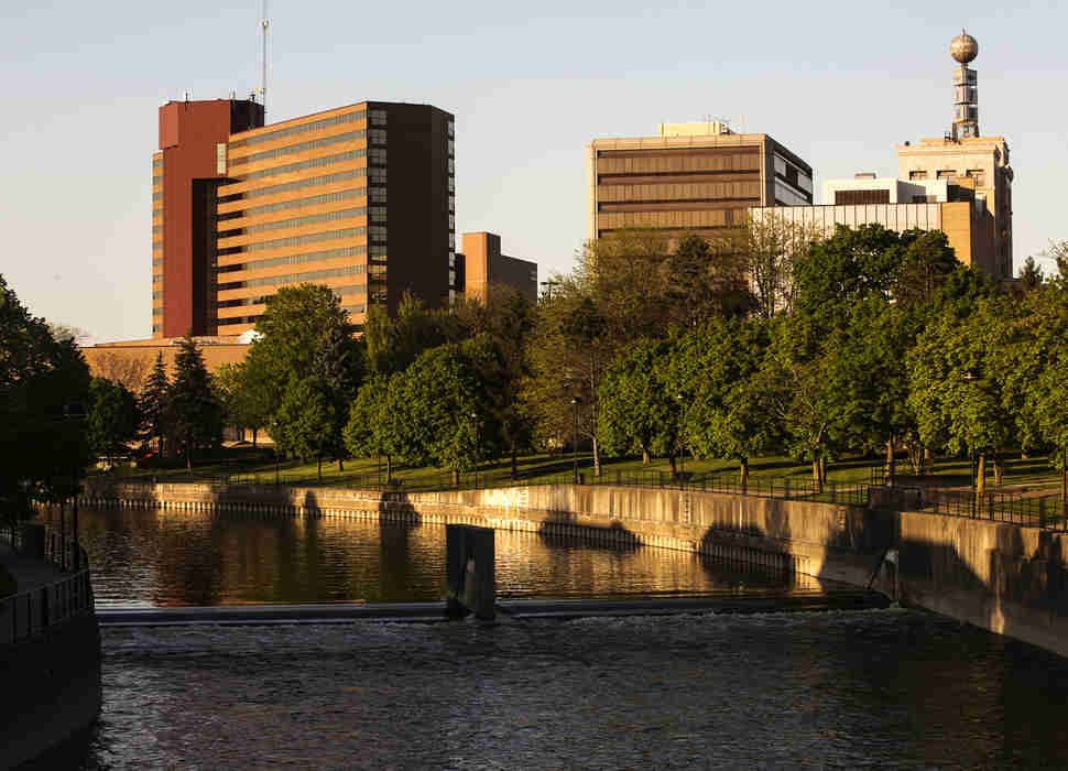 Downtown Flint, Michigan