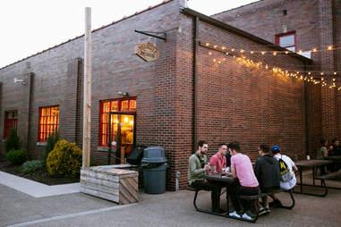 Exterior of Tenacity Brewery in Flint, Michigan