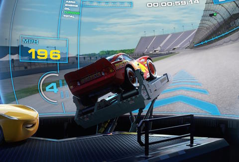 Cars 3 Review What S Up With That Computer Race Simulator Thrillist