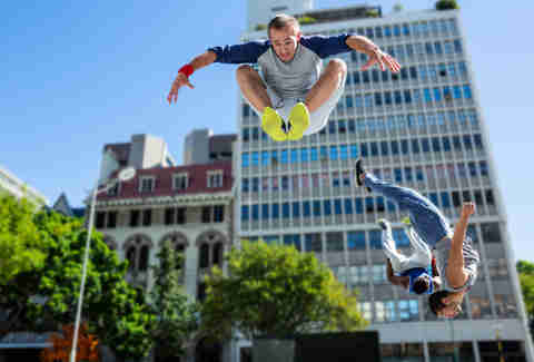 Discovery Green Parkour