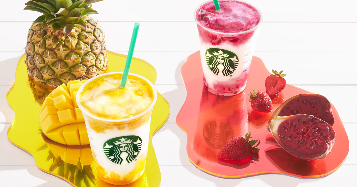Starbucks Just Unleashed 2 Crazy-Colorful Frappuccinos for Summer
