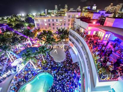 Miami's Hottest Summer Pool Parties: Clevelander