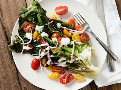 how to grill vegetables grilled salad