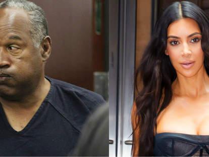 Kim Kardashian OJ Simpson