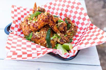 Soursop sambal wings