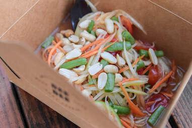 Bean noodle dish from Thai-Kun