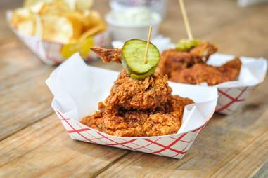 Nashville style hot chicken