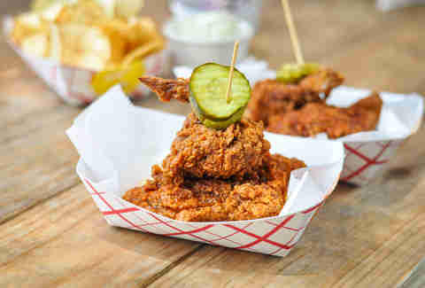 Nashville style hot chicken