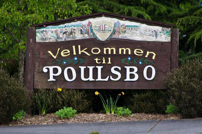 Welcome to Poulsbo Sign