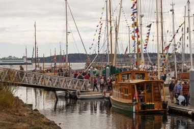 Wooden Boat Festival Washington