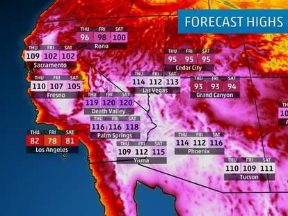 Southwest heat wave