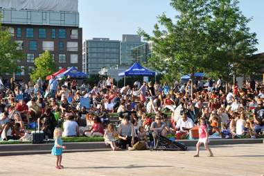 Capitol Riverfront Friday Concert Series