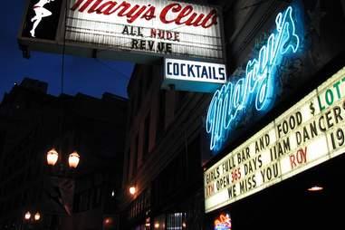 Mary's All Nude Revue Portland