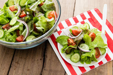 green salad cookout side