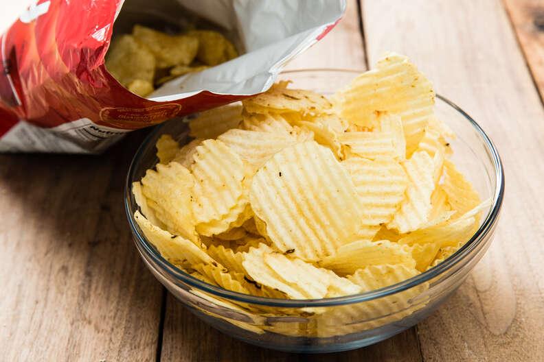 Bag of chips cookout sides