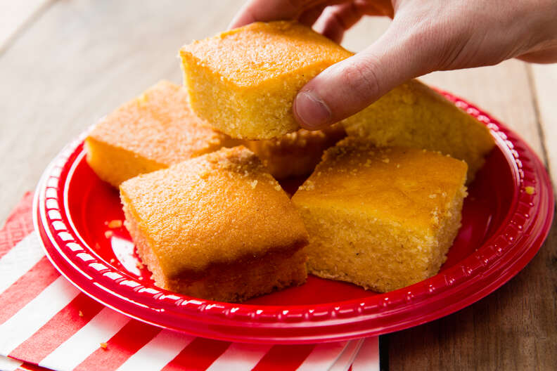 Corn bread cookout side