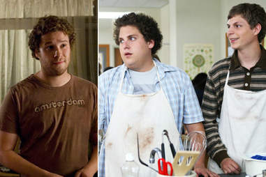 knocked up and superbad