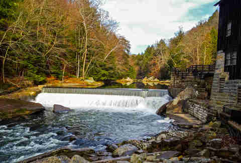 Mill State Park Dam