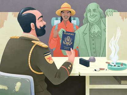 Travel Bribe at Customs