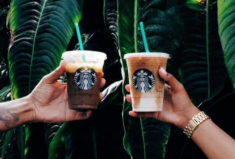 iced starbucks beverages