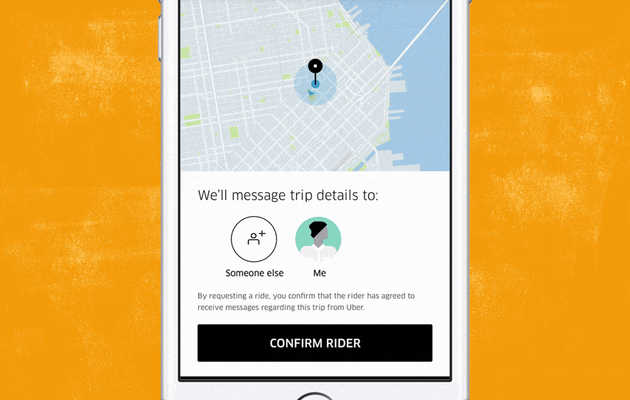 You Can Finally Order an Uber for Someone Else