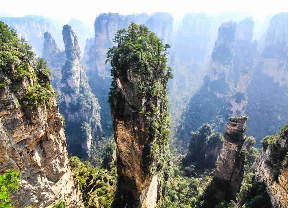 This Country's Mountains Are Basically 'Avatar' in Real Life