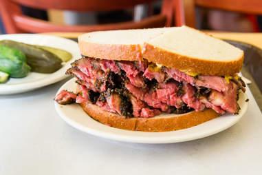 katz's pastrami sandwich