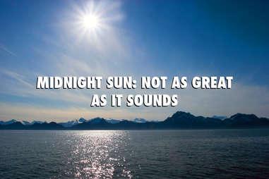 Alaska Midnight Sun Summer