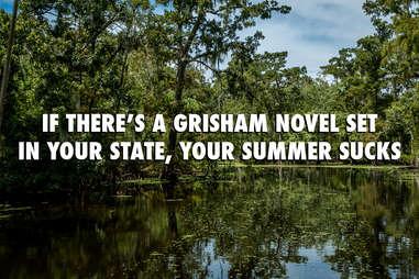 Louisiana in summer