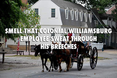 Virginia Colonial Williamsburg in Summer