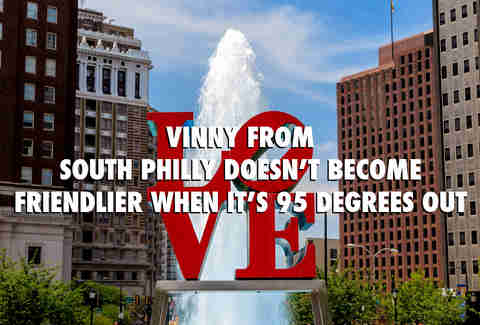Philadelphia Pennsylvania Summer