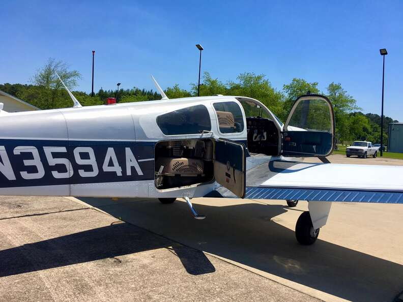 Plane used for rescuing shelter animals
