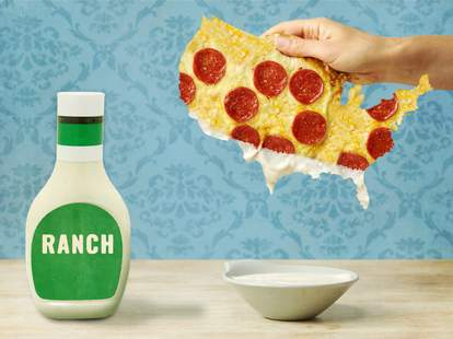 how ranch became america's condiment