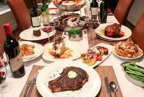 Delmonico Steakhouse, Delmonico Steakhouse steak