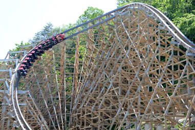 lightning rod rollercoaster