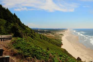Florence, Oregon pacific coast sand dunes