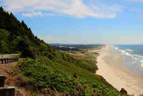 Florence, Oregon pacific coast sand dunes