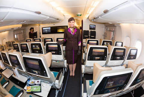 Etihad Airways bid on seats